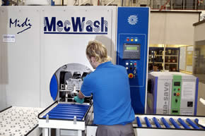 MecWash helps Triumph to maximise 'Rocket' quality