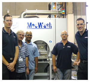 Trike replacement with MecWash aqueous cleaning system gains national award down under