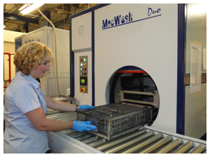 MecWash aqueous cleaning system at SPS targets key customer cleanliness requirements