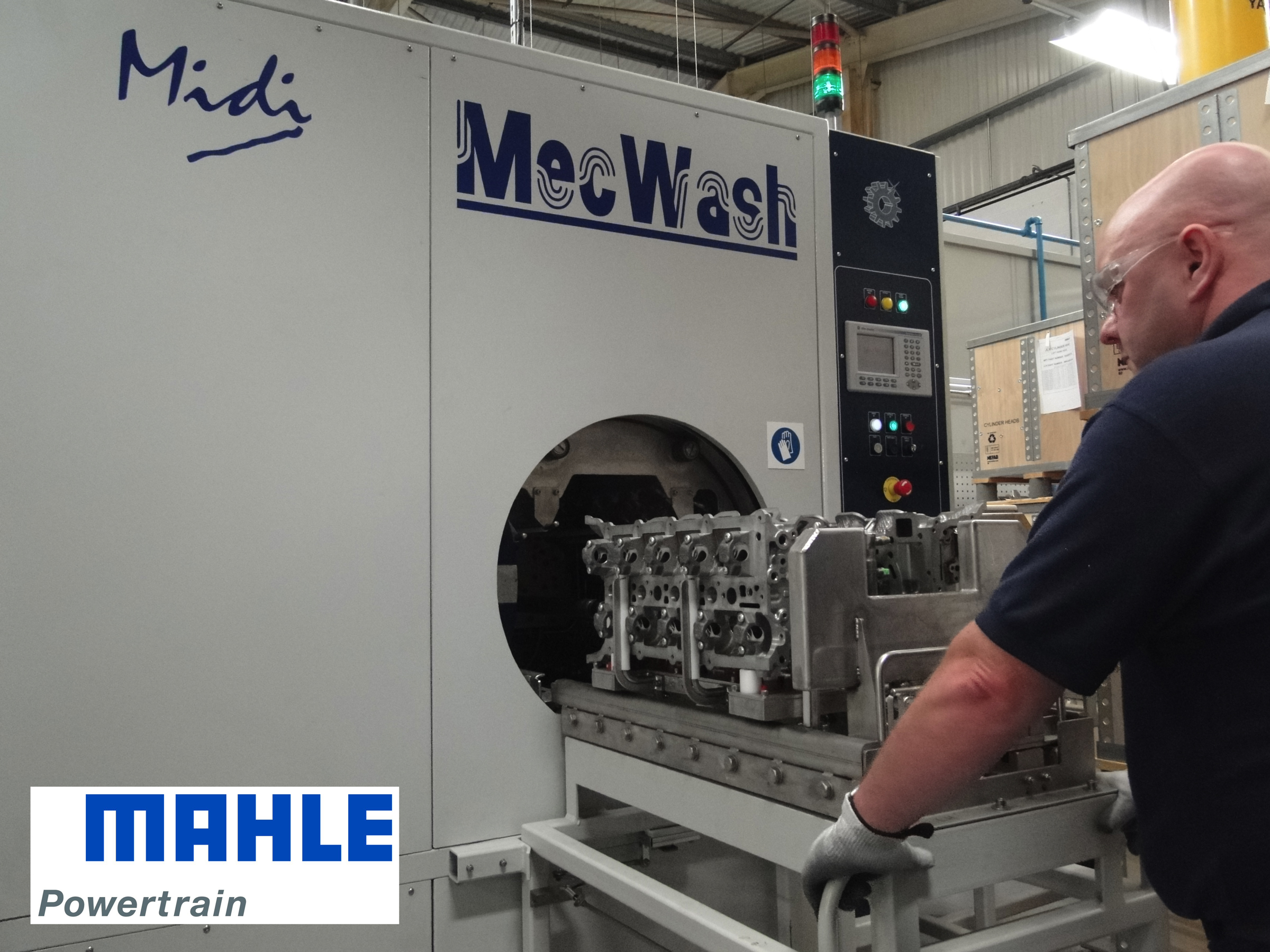 MecWash Brings Direct Jetting Cleaning Precision to Prestige Automotive Engine Manufacturer
