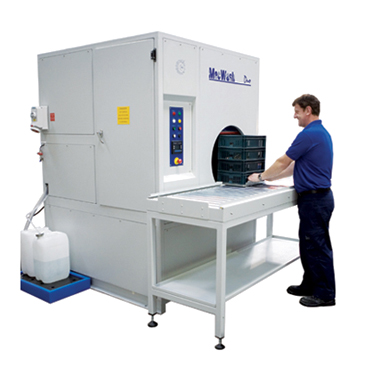 New MecWash Duo aqueous component cleaning system - helping precision engineering specialist meet SED objectives