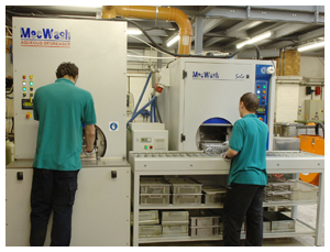 MecWash cleaning and Aqua-Save recycling work together for leading turned component manufacturer