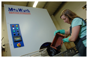 Aqueous Degreasing Technology from MecWash brings major turned parts production benefits