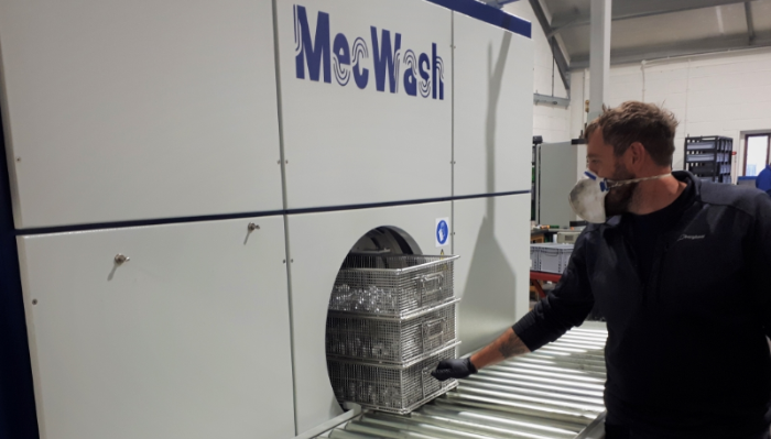 MecWash helps Vixen CNC 'up its game' with high-precision washing