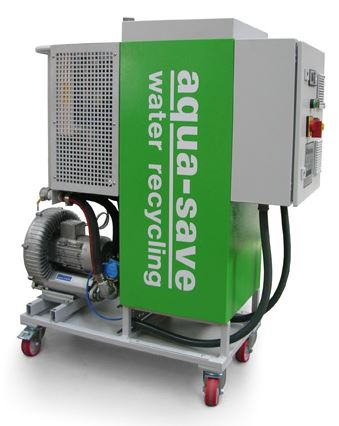 Walker Precision enhances waste disposal and production capability with Aqua-Save waste water unit