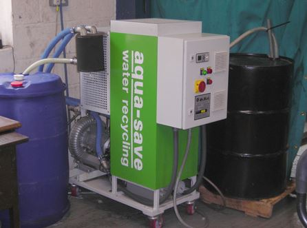 Aqua-Save helps precision engineers make major waste disposal savings