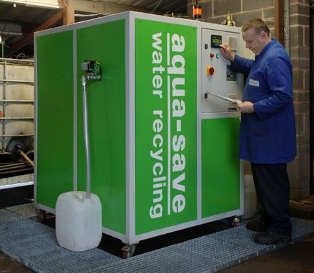 Aqua-Save installation helps Bulwell precision save £8000 per year recycling waste water