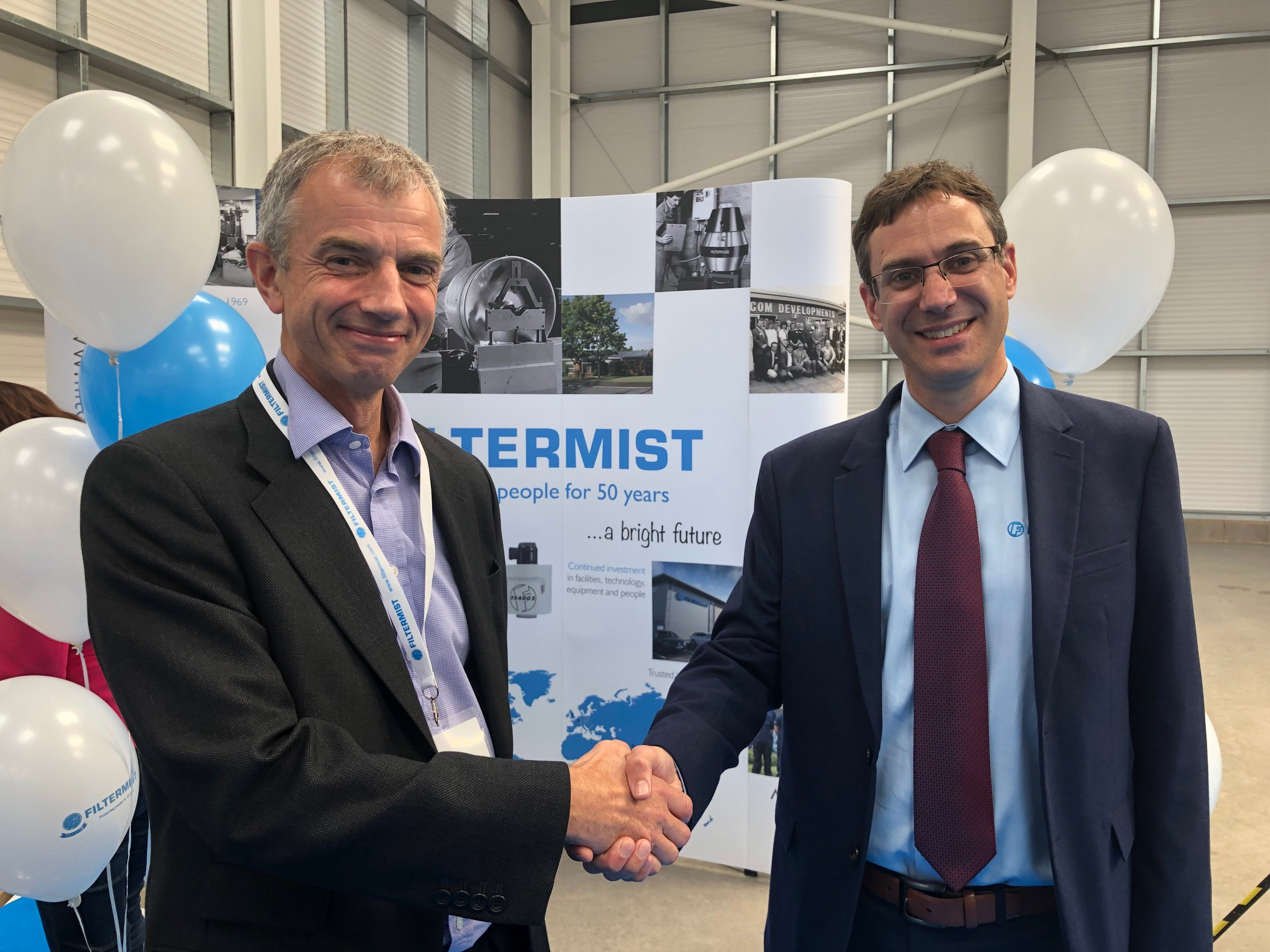 MecWash attend Filtermist's 50th anniversary celebrations