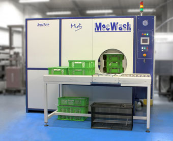 MecWash Midi improves component cleaning at Related Fluid Power