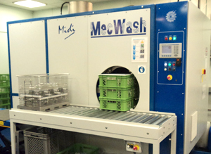 MecWash Midi brings benefits of aqueous cleaning to internationally renowned precision component manufacturer