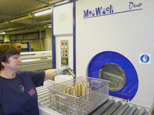 MecWash aqueous installation cuts cleaning time dramatically for leading brassware manufacturer