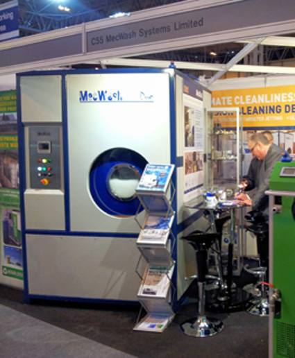 Wash demonstrations at Aero Engineering generate significant enquiries for MecWash