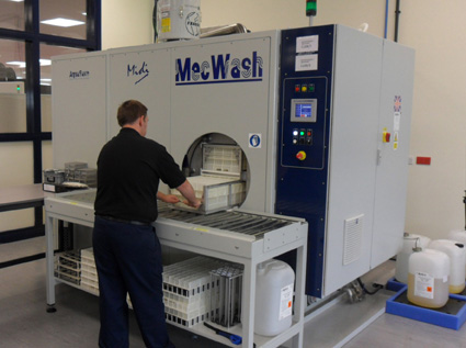 MecWash measures up to Renishaw's requirements