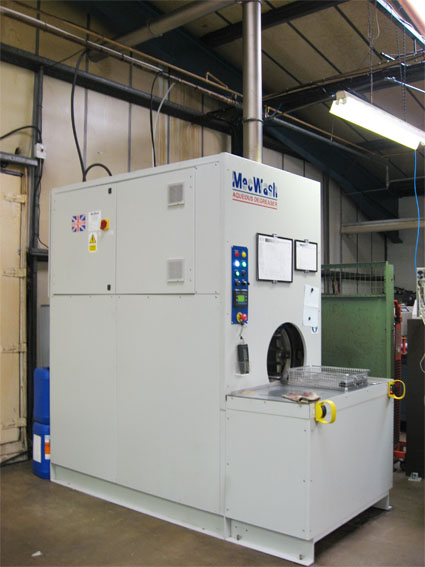 Salcey Precision engineers success with MecWash