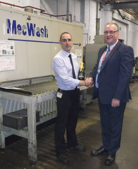 MecWash celebrates its 20th anniversary by revisiting first ever installation