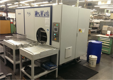 A-dec chooses MecWash aqueous parts washing systems