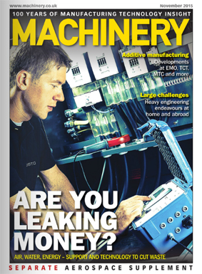 Aqua-Save system featured in November's Machinery Magazine!