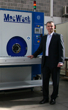MecWash targets European market at Parts2Clean in Stuttgart