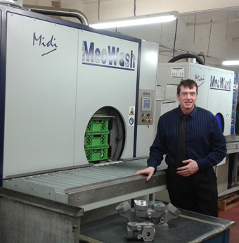 Investment in MecWash helps re-shore automotive parts production