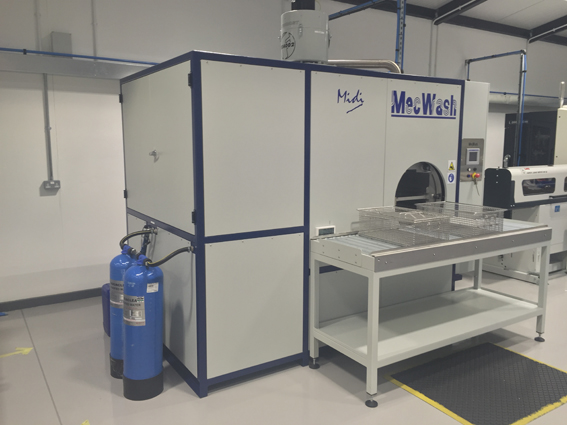 JK Engineering automates parts washing by investing in a MecWash Midi