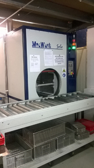 MecWash Solo delivers for leading contactor manufacturer