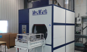 MecWash Duo ensures spotless parts for automotive industry