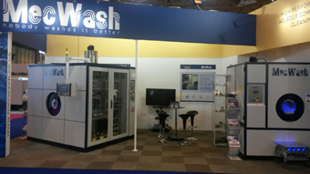 MecWash's new MWX400 wows the crowds at MACH 2016