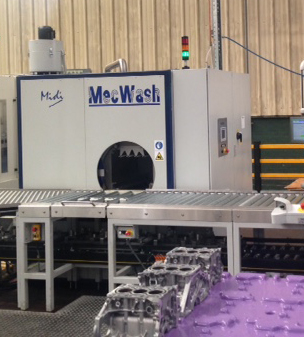 MecWash Midi delivers fast and reliable results for Ryobi