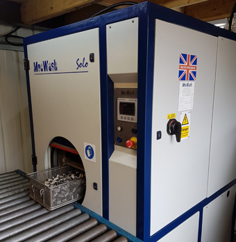 Wilbar Components invests in new MecWash cleaning system