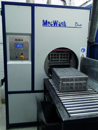 World-leading shotgun cartridge manufacturer targets MecWash Duo