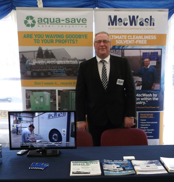 MecWash Systems Ltd delight as NFPC open day leads to new enquiries