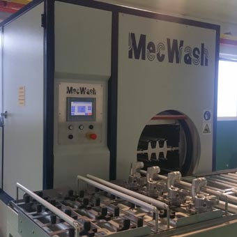 World leading automotive parts maker turns to MecWash again