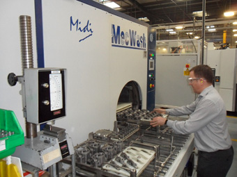 MecWash ensures cleaning regimes meet standard for hydraulics components
