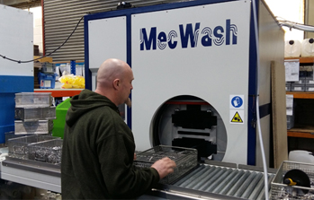 Precision engineering firm increases production levels thanks to MecWash washing system