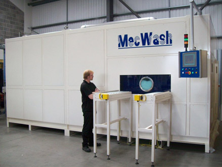 Bespoke washing technology – because not every manufacturing process is the same