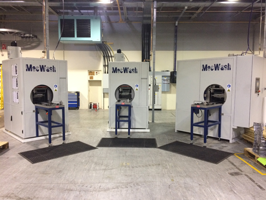 MecWash helps global die-casting manufacturer increase production and cleanliness levels without compromise