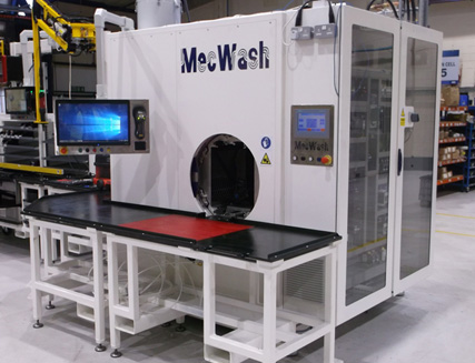 Leading hydraulics manufacturer invests in 8th and 9th MecWash wash systems in their European headquarters in Runcorn, UK